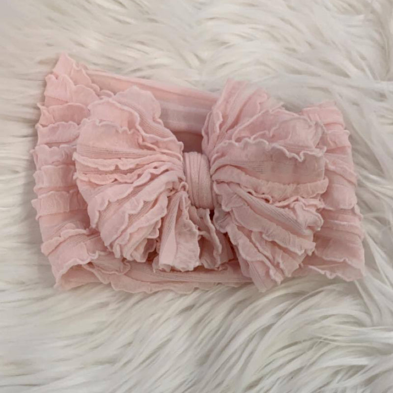 Ruffle Headwrap Ballet Mini