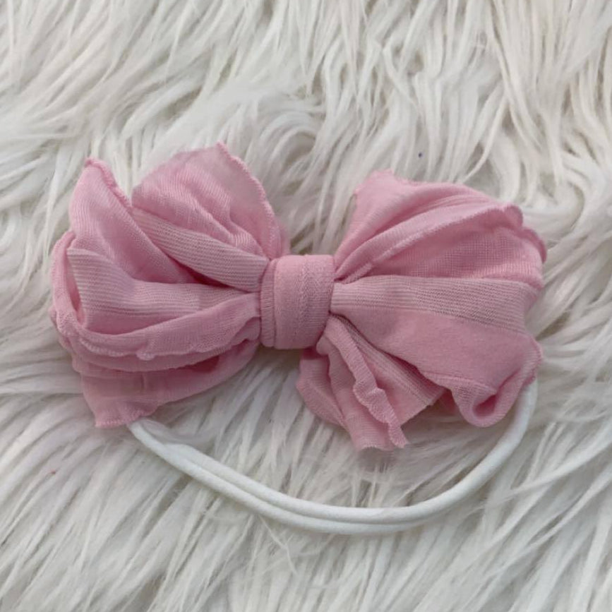 Mini Messy Headband Bubblegum