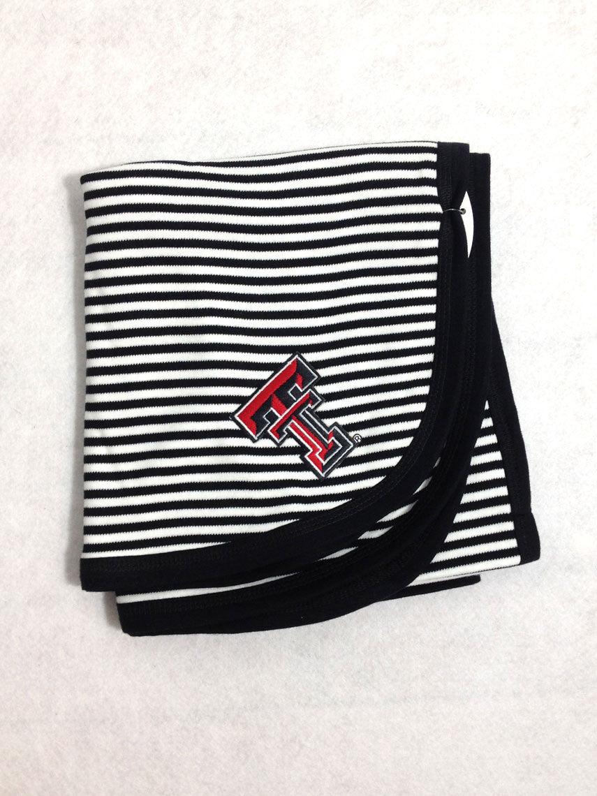Texas Tech Striped Blanket