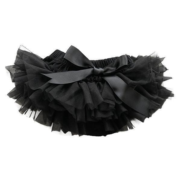 Mila & Rose Tutu Bloomer Black 0-6m