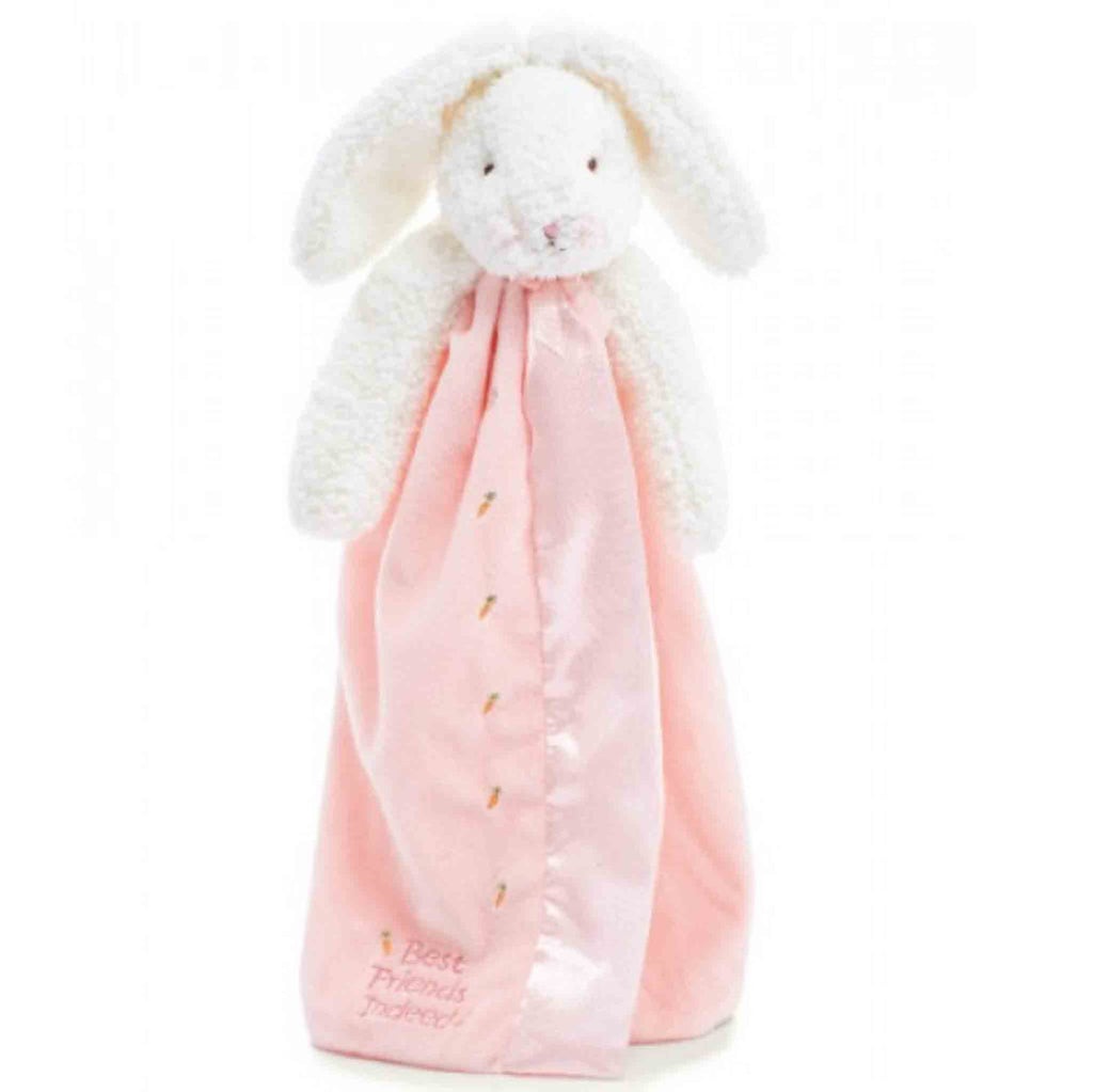 Bunnies By the Bay Blossoms Buddy Blanket Pink
