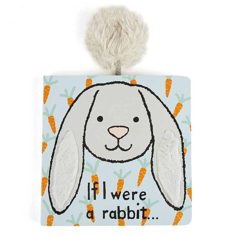 Jellycat If I were a Rabbit Grey