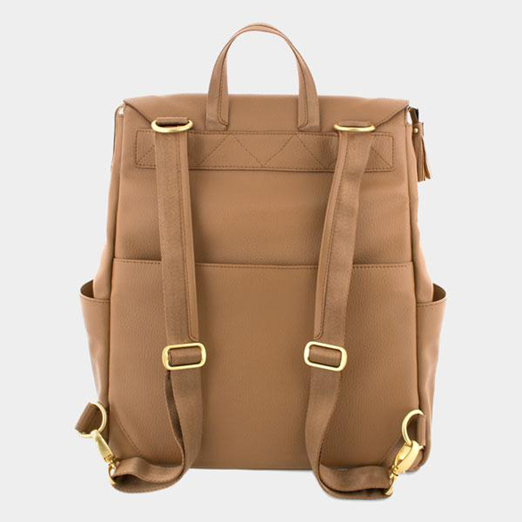 Freshly Picked Butterscotch Backpack Diaper Bag