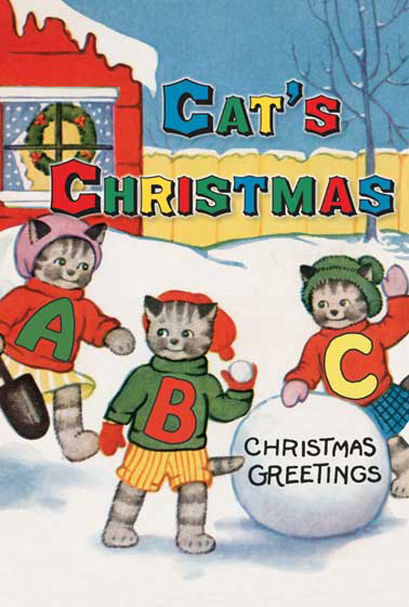 Laughing Elephant Cat's Christmas ABC