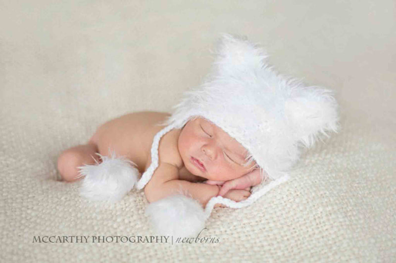 Daisy Baby Dakota Bear Hat