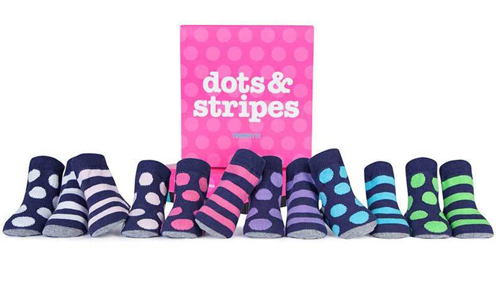 Trumpettes Dots and Stripe, 0-12m