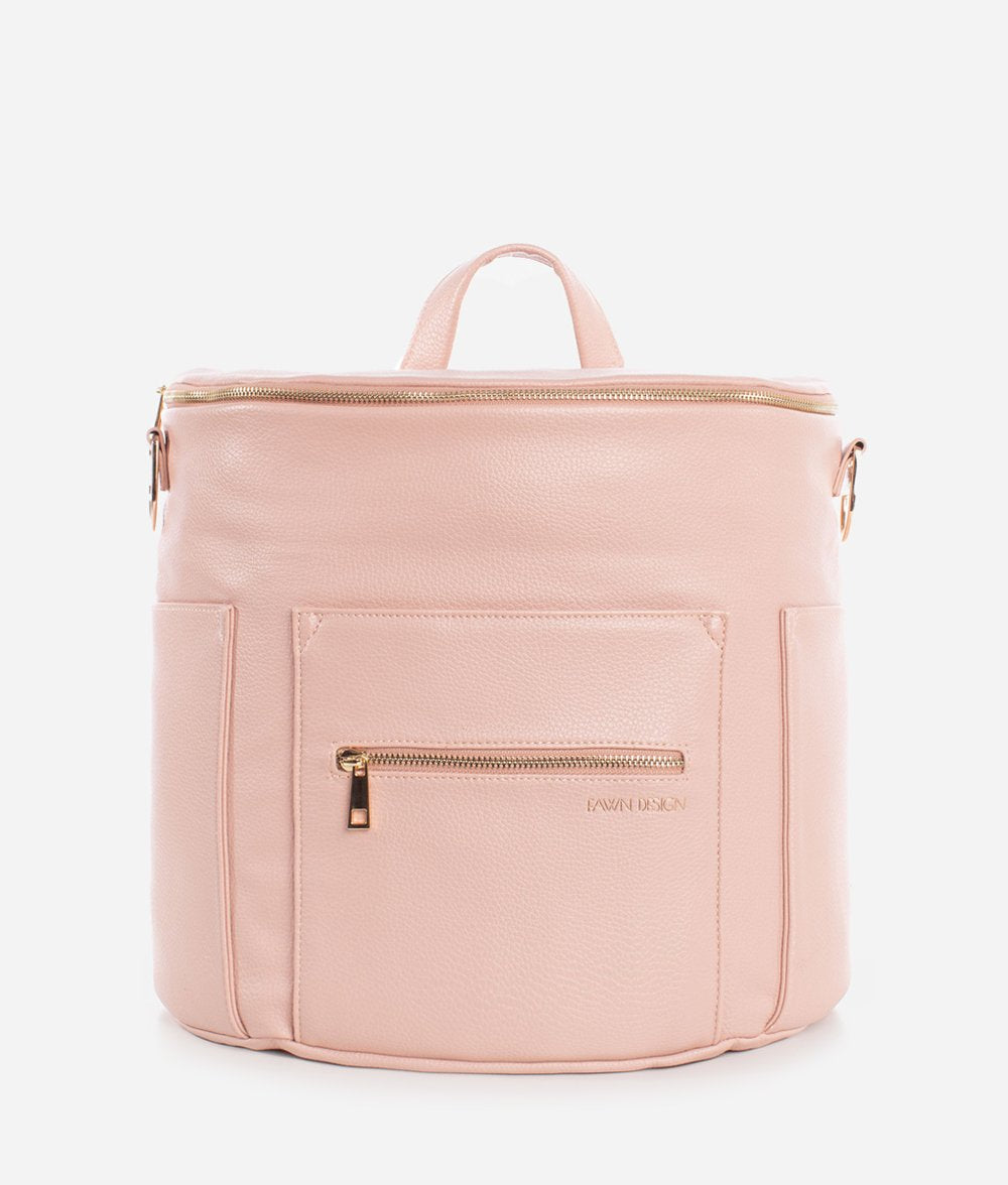 Fawn Diaper Bag, Blush