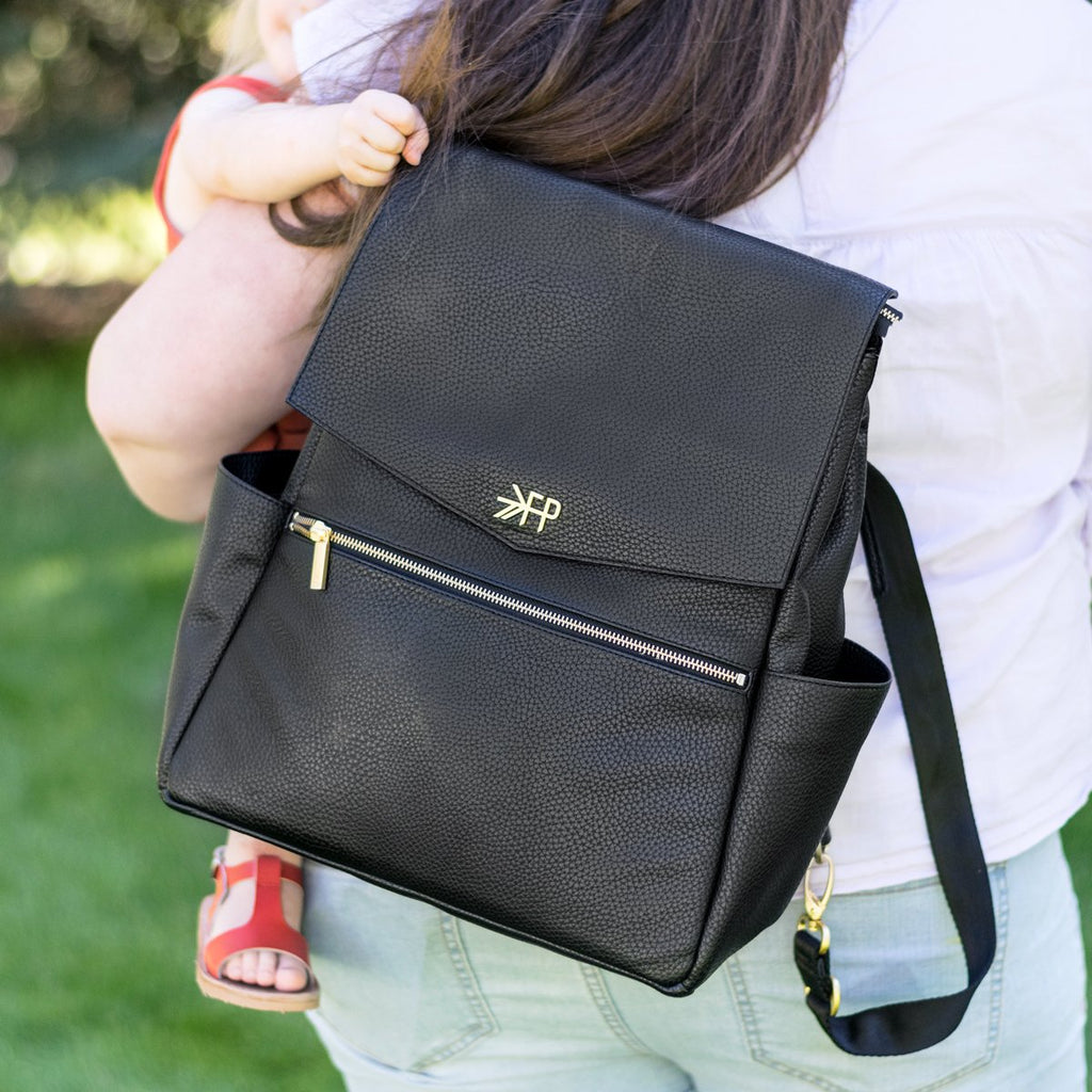 Freshly Picked Ebony Backpack Diaper Bag