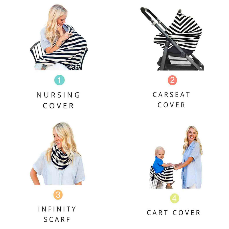 Covered Goods 4 in 1 Multi-Use Nursing Cover