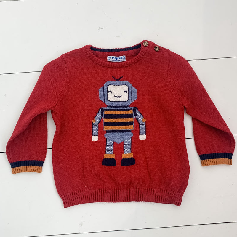 Mayoral Robot Sweater