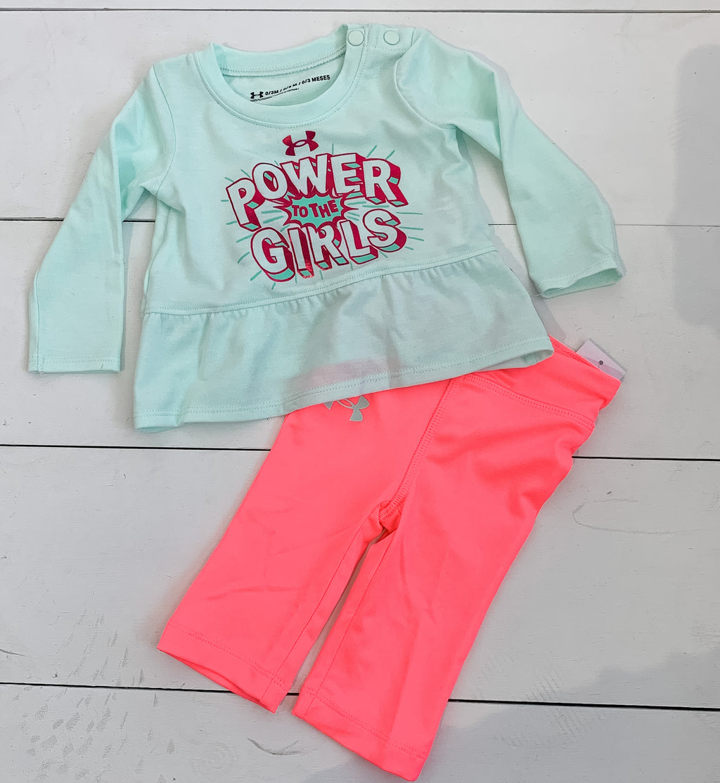 Under Armour Power to the Girls Set