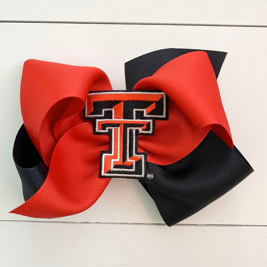 Texas Tech Huge Two-Toned Bow
