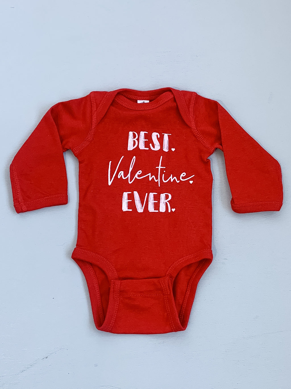 Paper Cows Best Valentine Ever Bodysuit