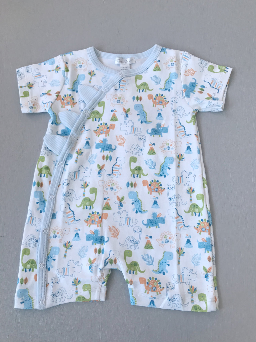 Kissy Kissy Dino Dash Short Playsuit