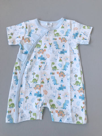 Mud Pie Shortall Bunny Schiffli