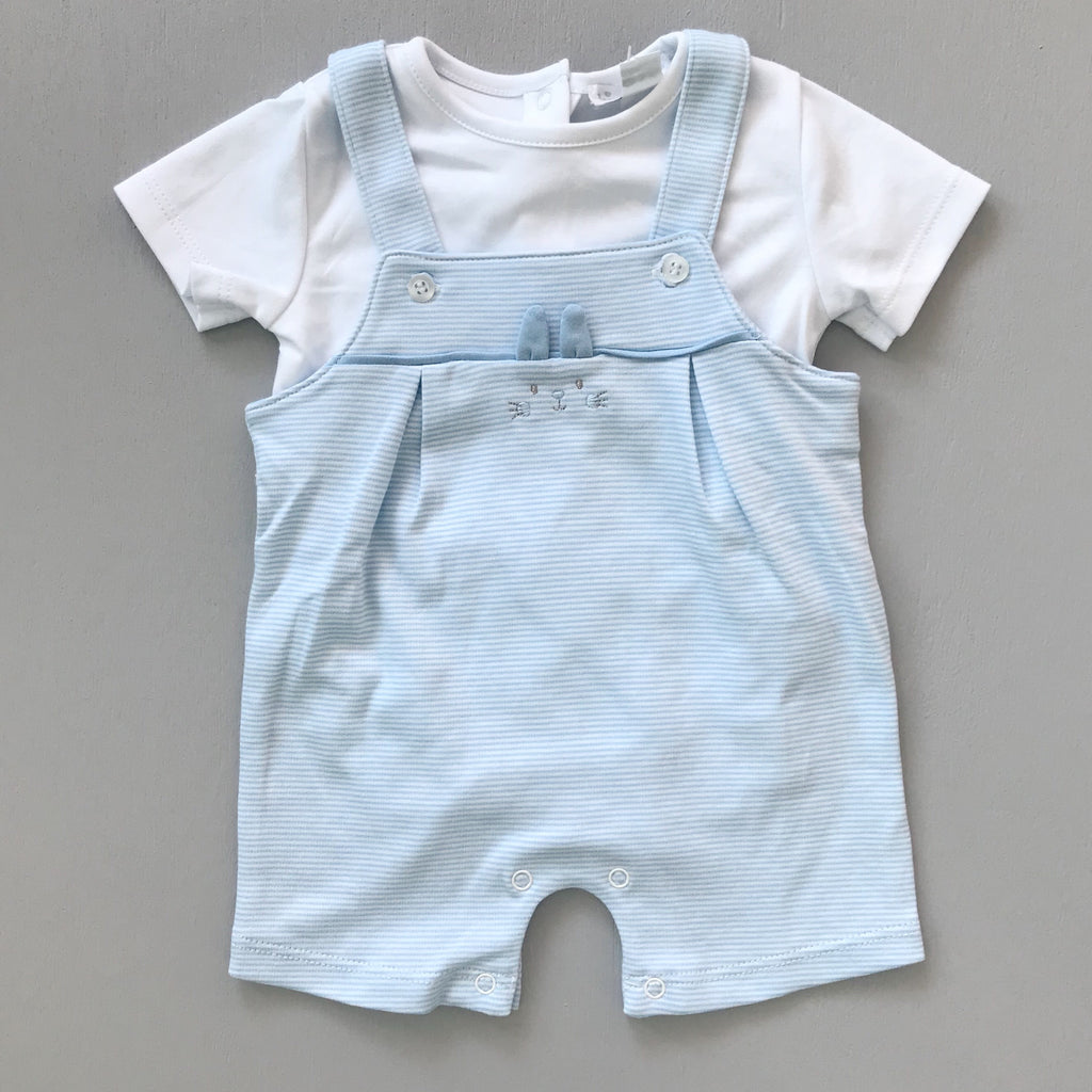 Kissy Kissy Bunny Buzz Short Overall Set