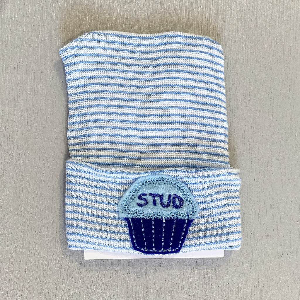 Cradle Cuties Hat, Stud Muffin
