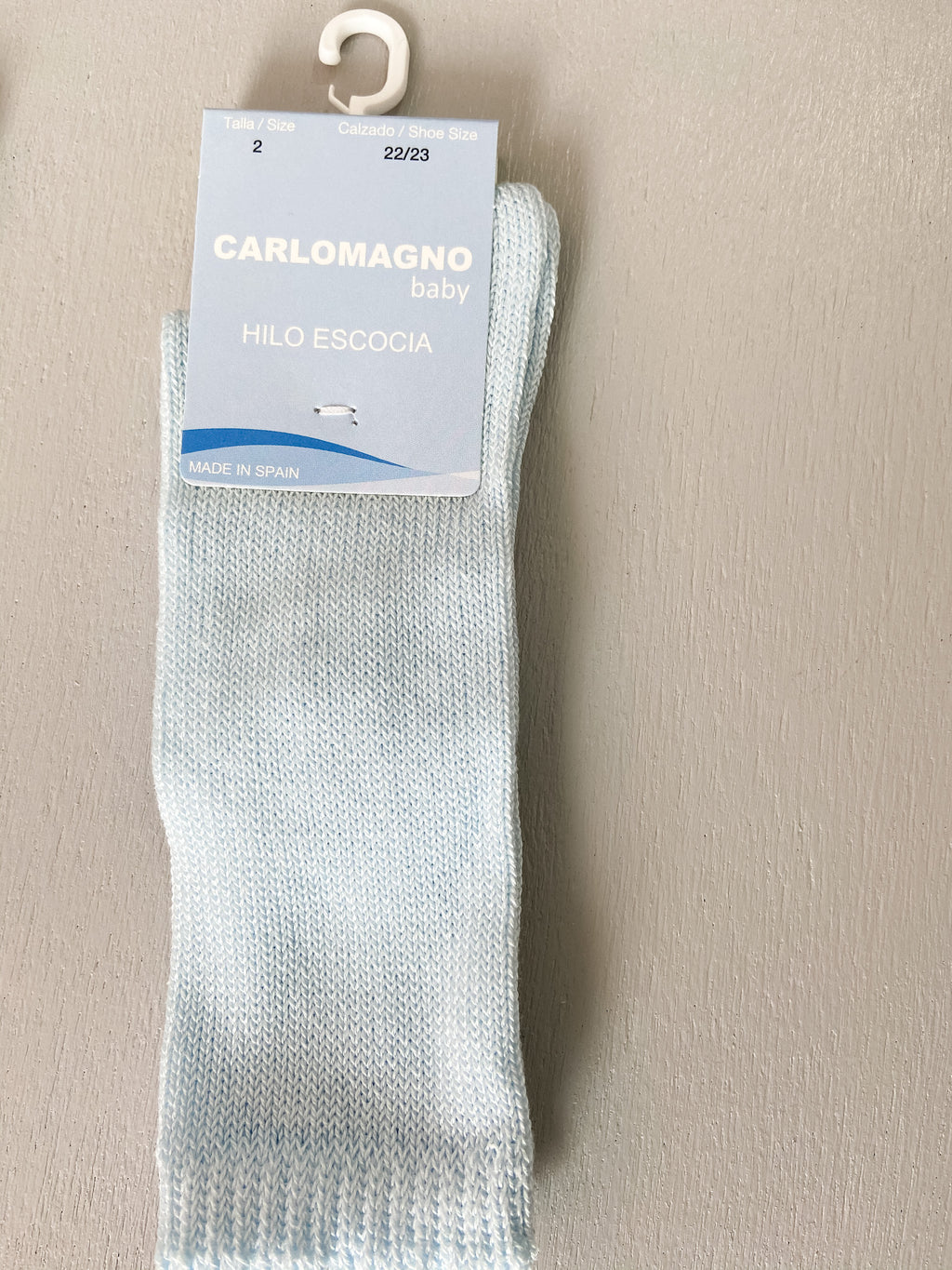 Carlomagno Plain Kneehigh Sock