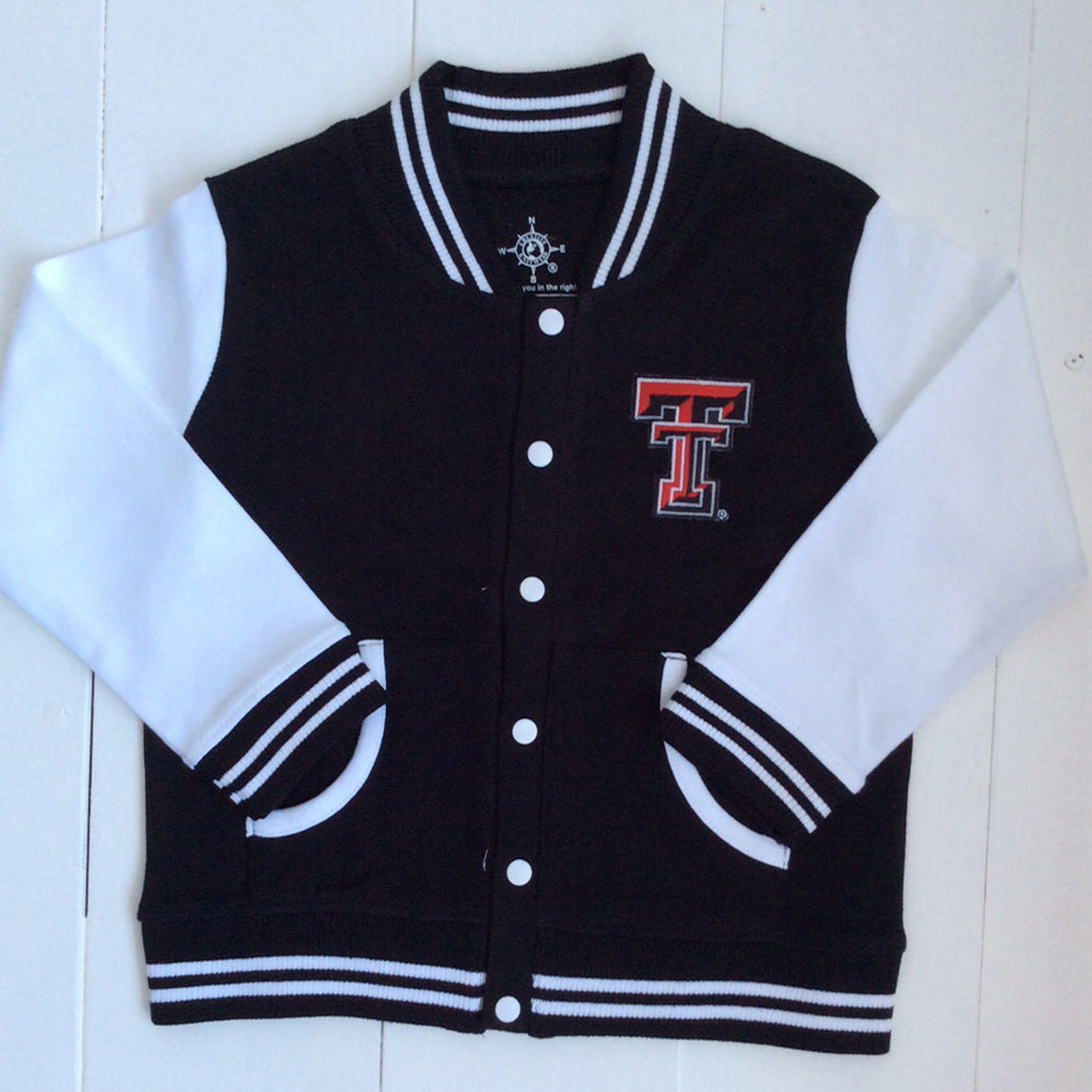 Creative Knitwear Texas Tech Varsity Jacket