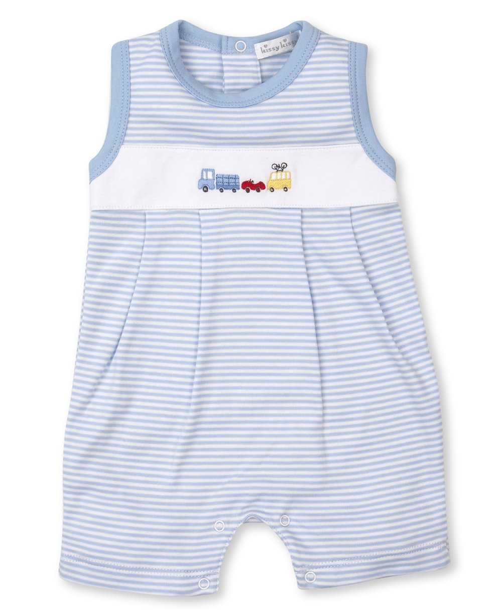 Kissy Kissy Bumper Traffic Playsuit
