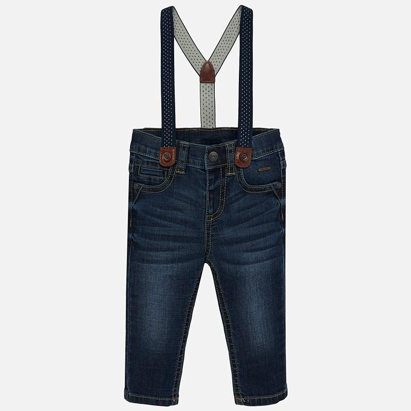 Mayoral Tapered Fit Suspender Jean