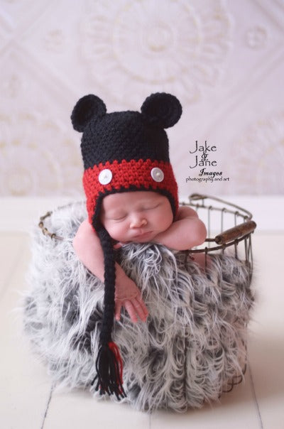 Daisy Baby Theo Mouse Hat