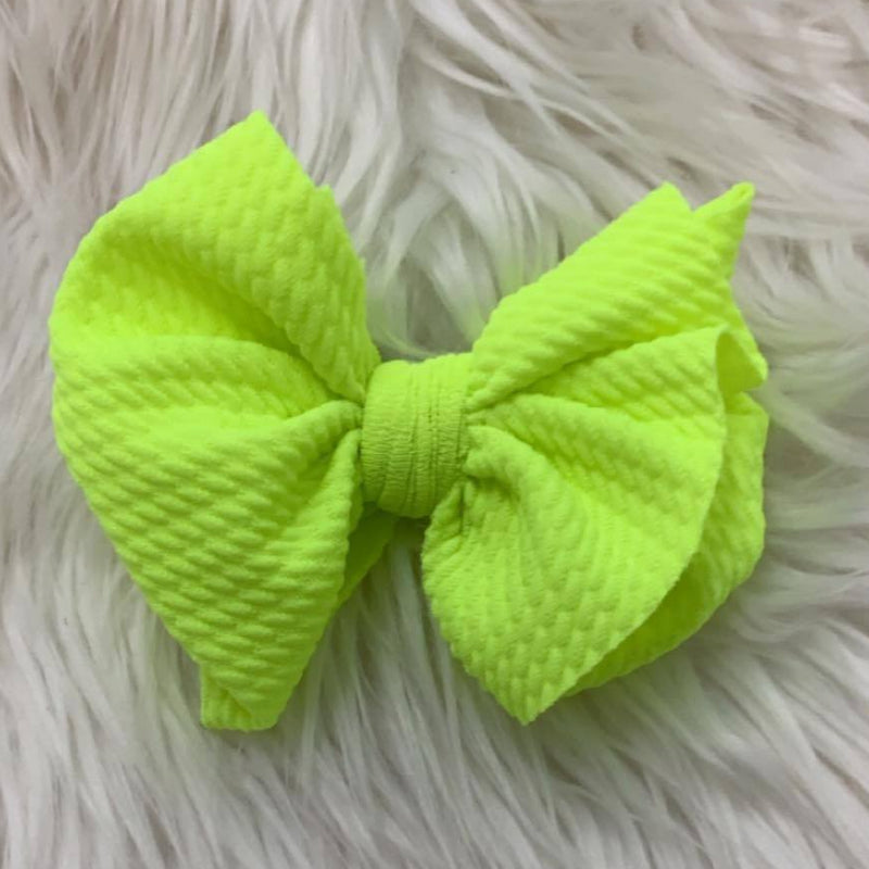 Waffle Clip Neon Yellow