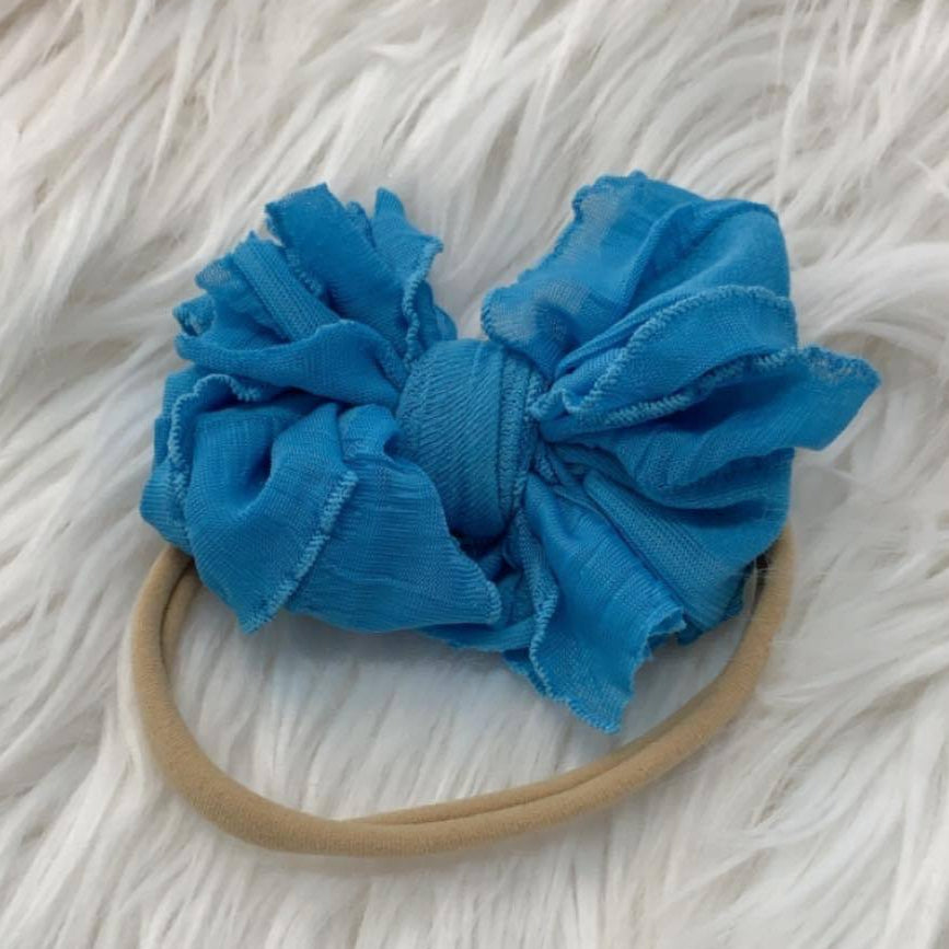 Mini Messy Headband Ocean