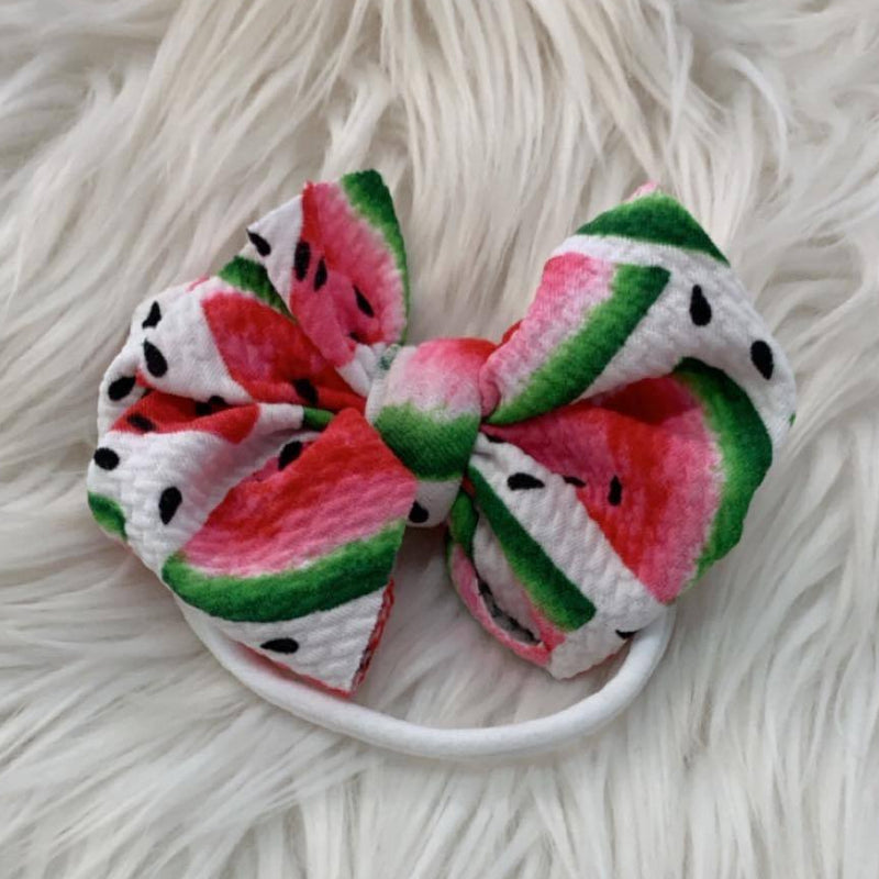 Waffle Knit Mini Headband One in a Melon