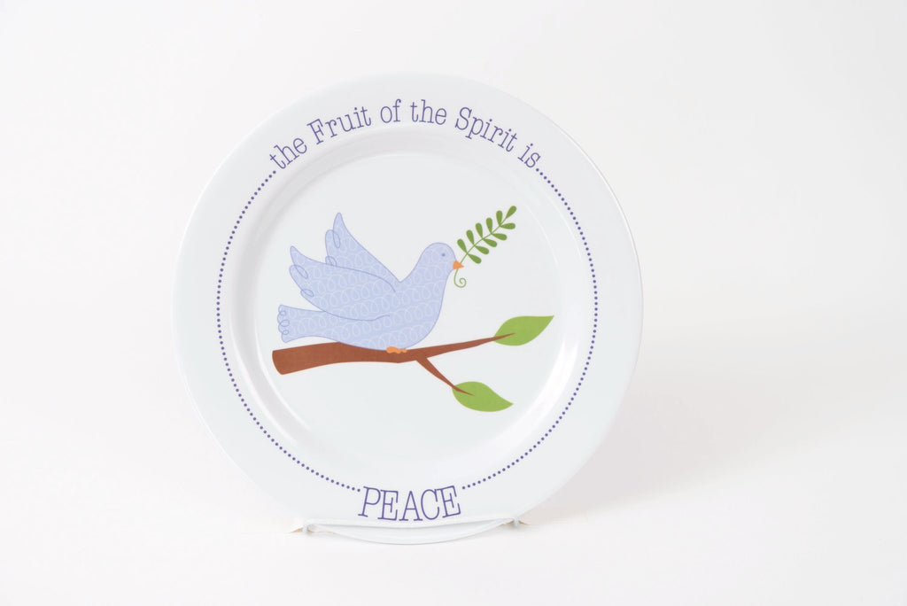Fruit-Full KIds Peace Plate