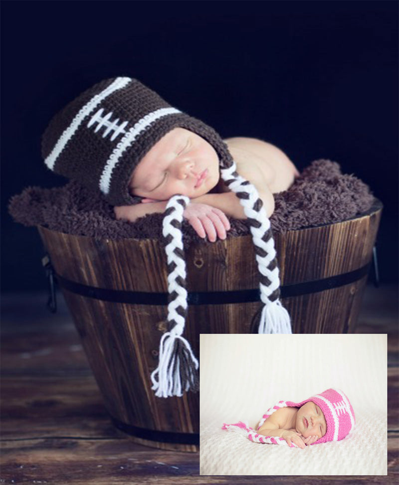 Daisy Baby Peyton Football Hat