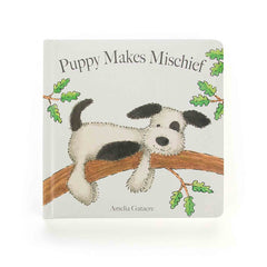 JellyCat Book- Puppy Makes Mischief