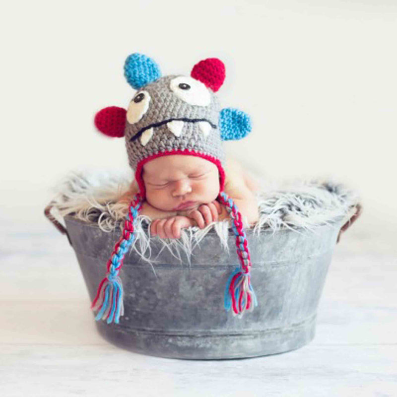 Daisy Baby Rowdy Monster Hat