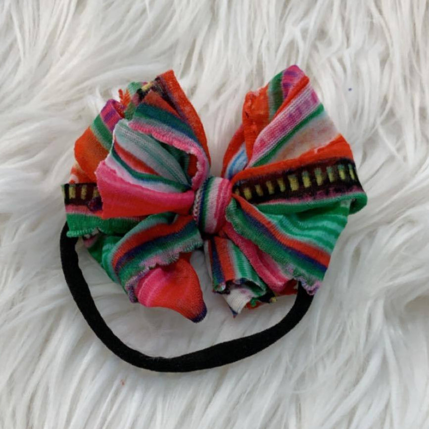 Mini Messy Headband Serape