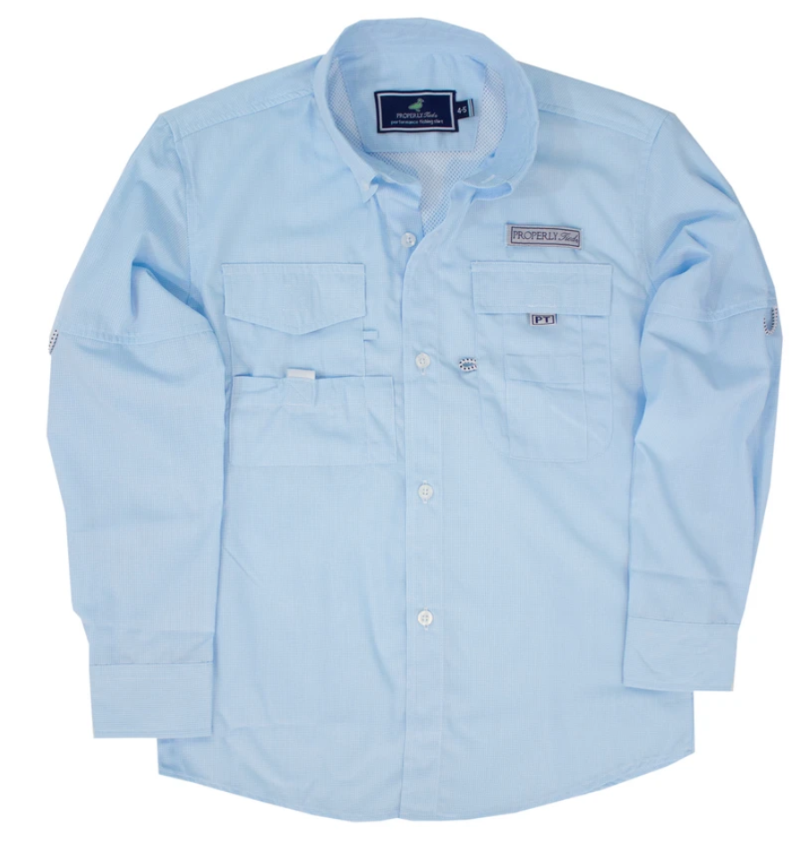 Properly Tied Performance Fishing Shirt
