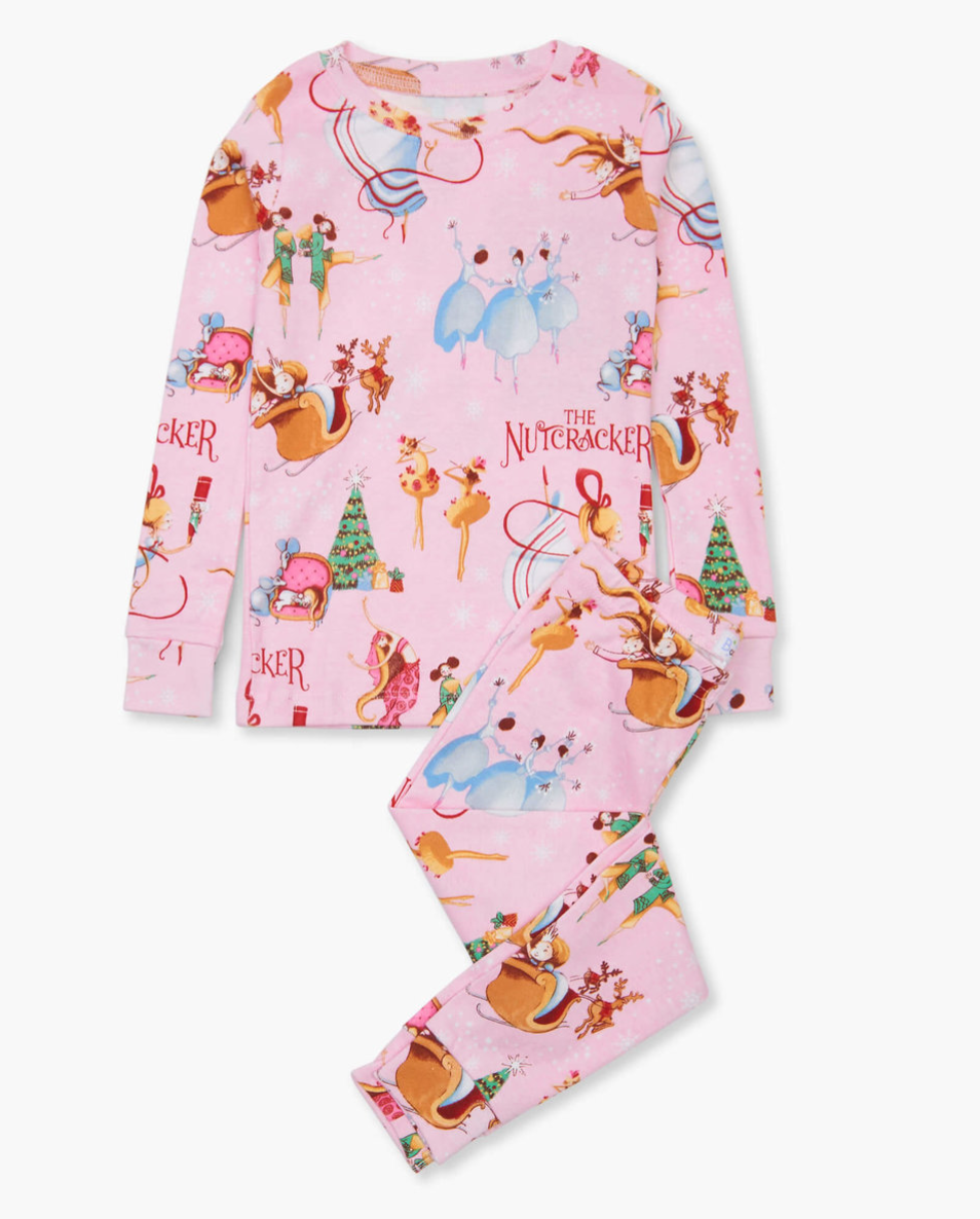 Hatley Books To Bed, Nutcracker Pajamas Set W/ Book