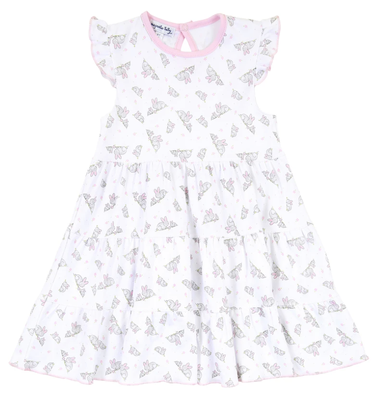Magnolia Baby Darling Bunnies Ruffle Flutters