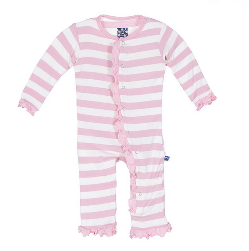 Kickee Pants Essentials Ruffle Coverall