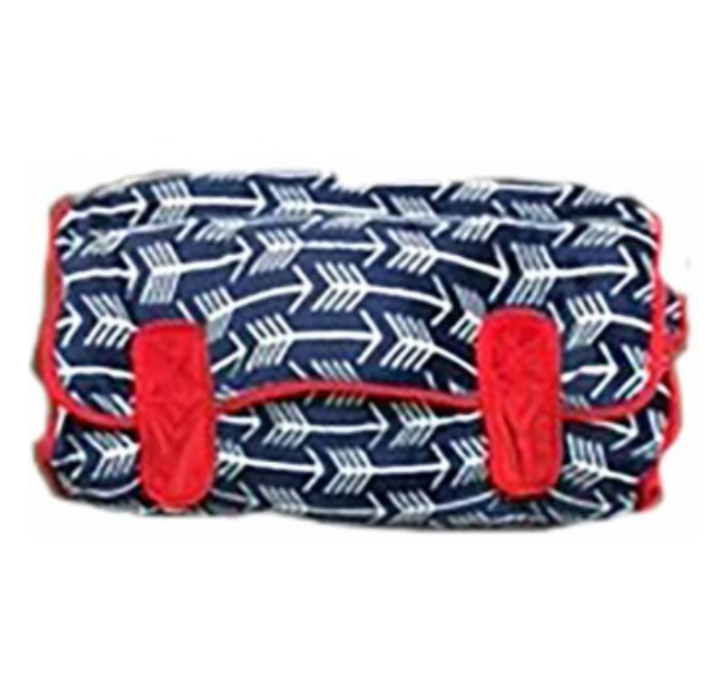 Ozark Mountain Navy Arrow and Red Nap Mat