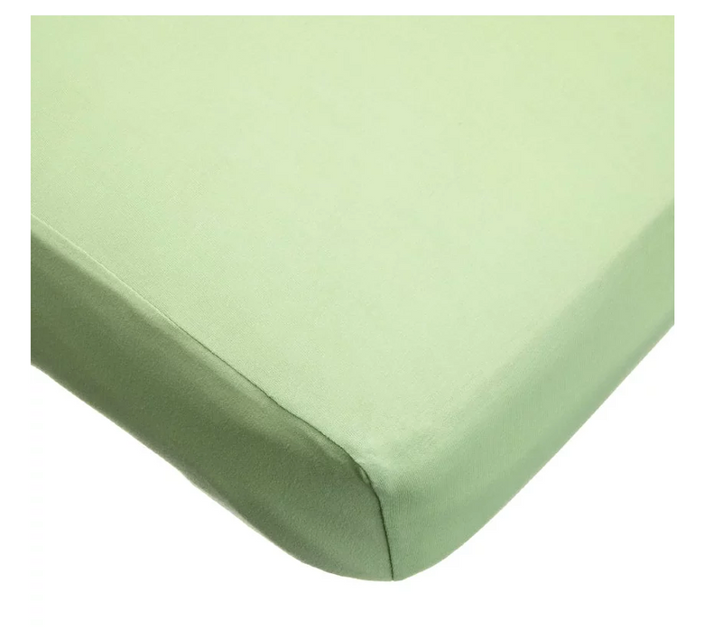 American Baby Company Jersey Crib Sheet, Apple Green