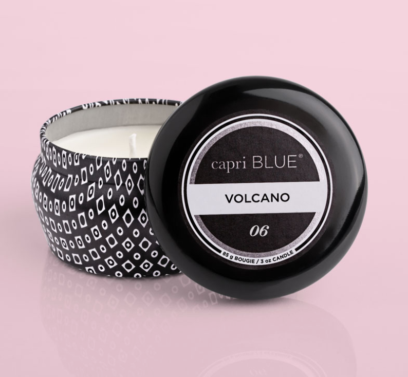 Capri Blue Volcano Tin Candle