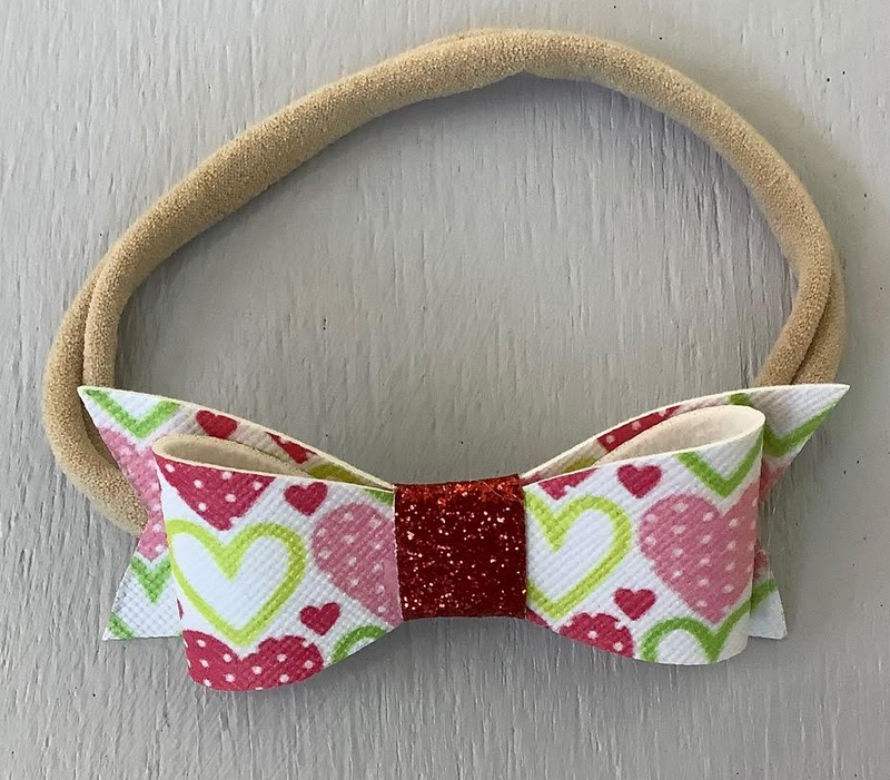 "2"" Infant Bow Valentine"