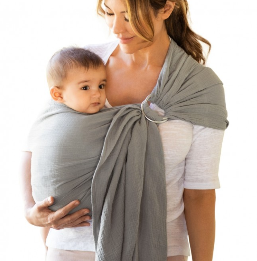 Moby Ring Sling Pewter