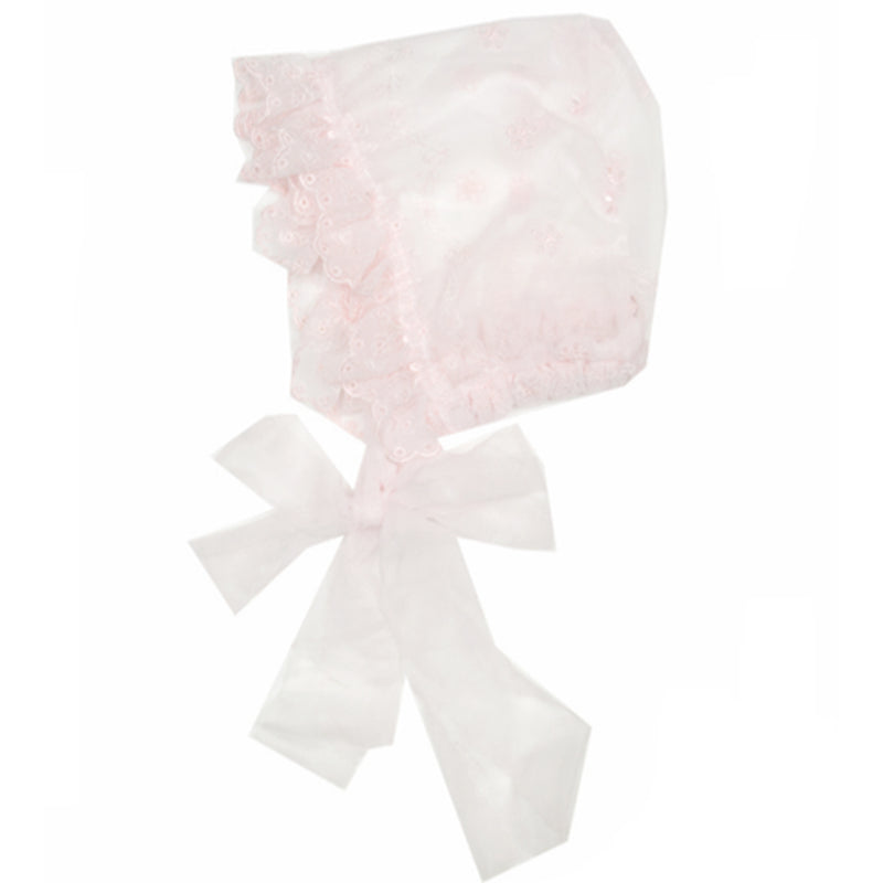 Haute Baby Bow Love Bonnet, 0-3