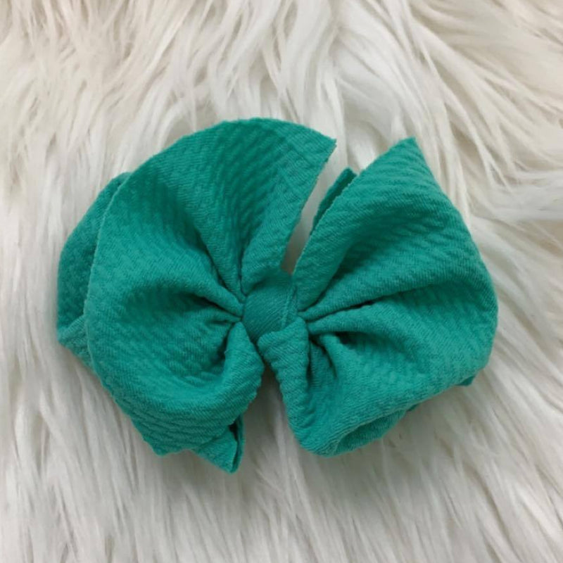 Waffle Clip Turquoise