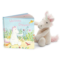 JellyCat Book Unicorn Dream