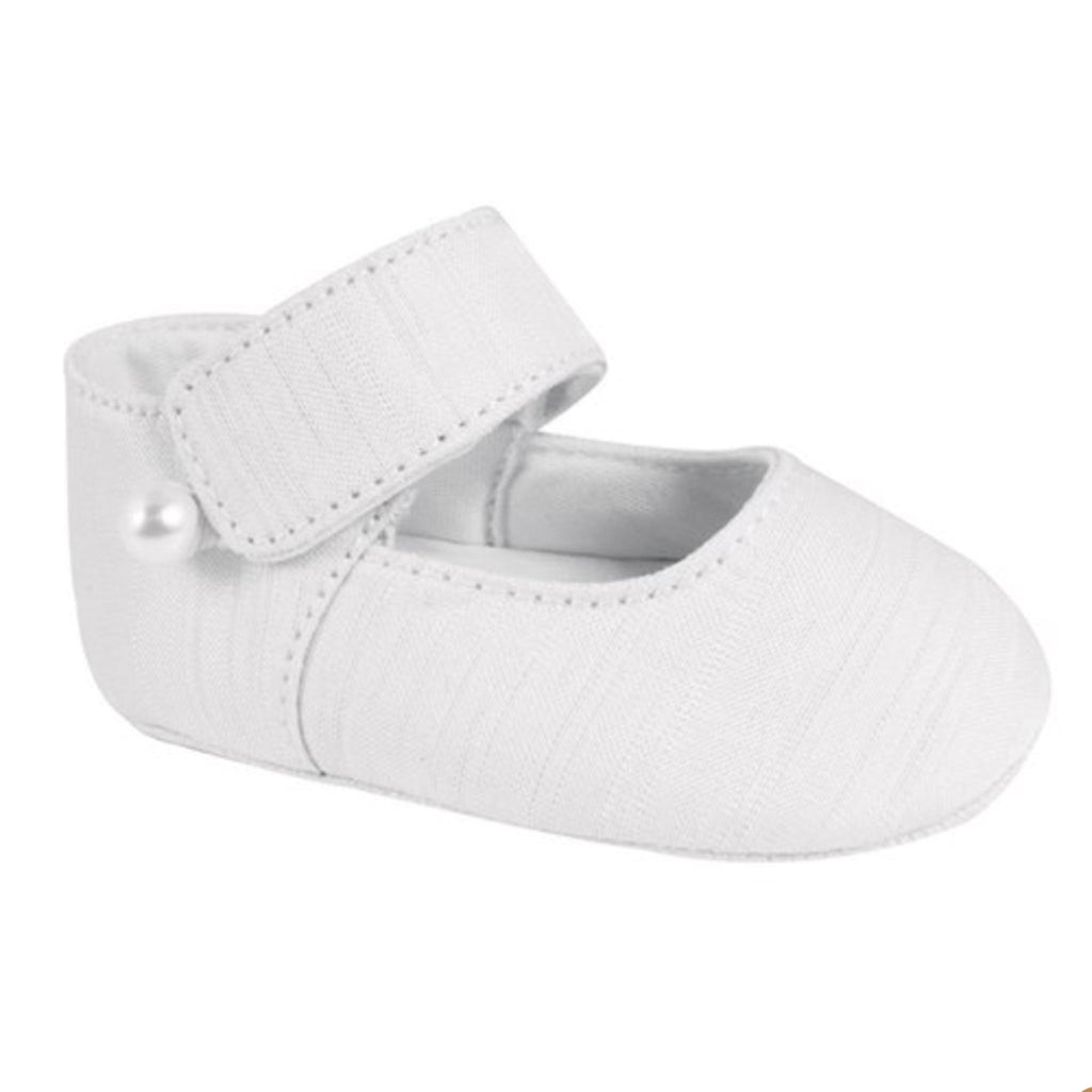 Trimfoot Shantung Removable Strap Shoe