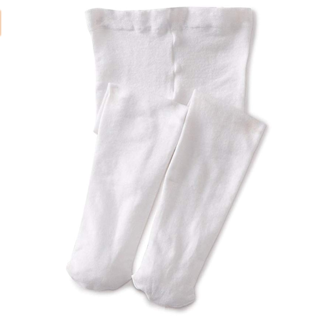 Jefferies White Pima Tights