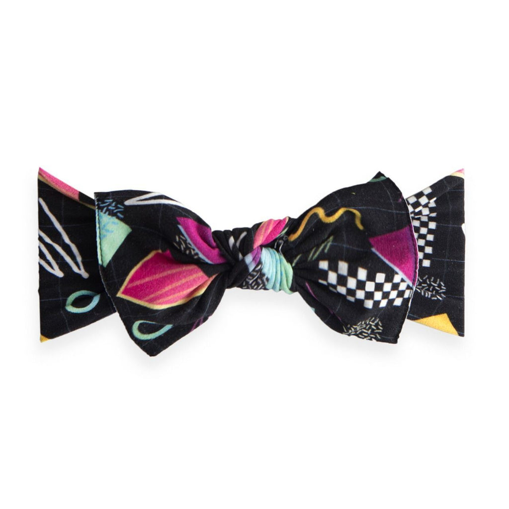 Baby Bling Patterned Knot Headband Bayside High