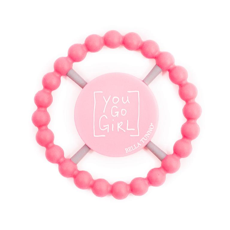 Bella Tunno Teether You Go Girl, Pink